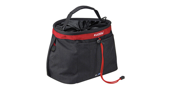 KlickFix Light Bag schwarz/rot